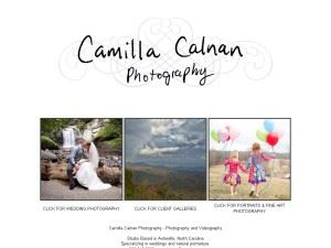 Camilla Calnan Photographer