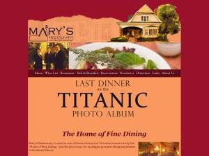 Mary's Restaurant And Bed & Breakfast