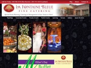 La Fontaine Bleue Off Site Catering