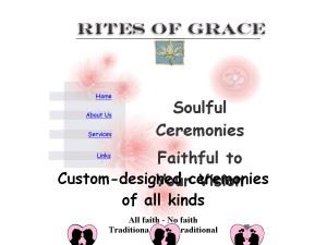 Rite of Grace