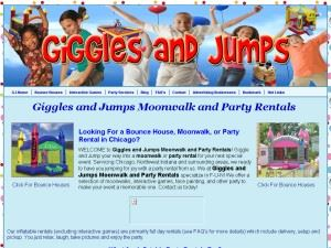 Giggles And Jumps Moonwalk And Party Rentals