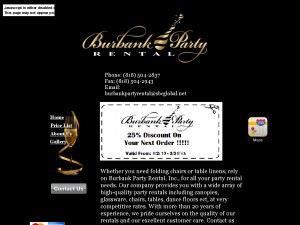 Burbank Party Rental Inc.