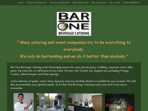 Bar One Beverage Catering