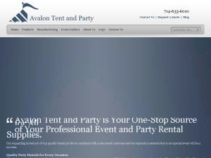 Avalon Tent & Party