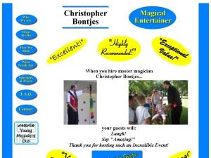 Christopher Bontjes Magical Entertainer