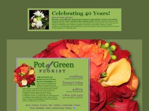 Pot Of Green Florist
