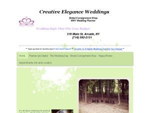 Creative Elegance Weddings  Elma