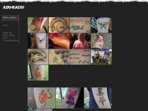AIRHEADS airbrush tattoos