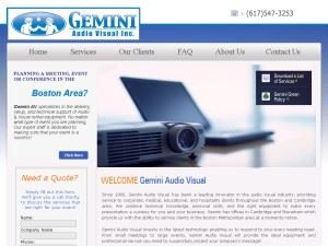 Gemini Audio Visual Inc.