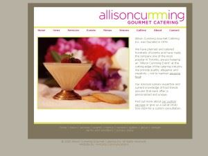 Allison Cumming Gourmet Catering Incorporated