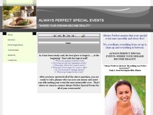 Always Perfect Special Events