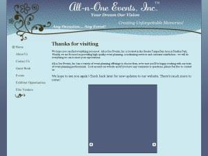 All-n-One Events, Inc.