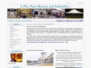 A PLUS PARTY RENTALS LLC