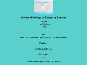 Perfect Weddings & Events by Latosha