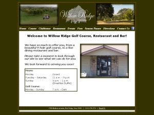 Willow Ridge Golf Course