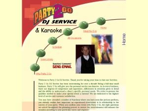 Party 2 Go DJ Service