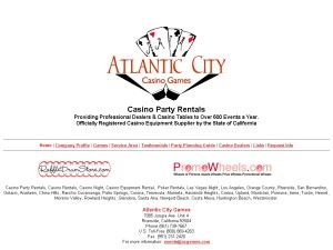 Atlantic City Games