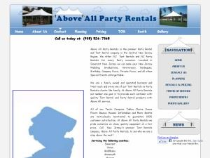 Above All Party Rentals