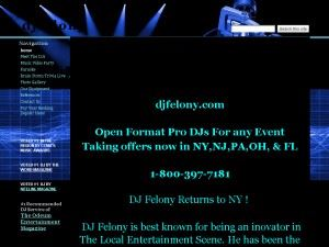 DJ Felony's Entertainment