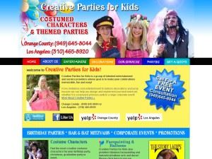 Creative Parties For Kids
