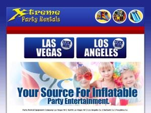 Xtreme Party Rentals Burbank Inflatable Entertainment