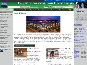 Evansville Vanderburgh Public Library - New Central Library