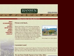 Hansen Guest Ranch