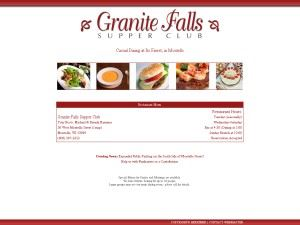 Granite Falls Supper Club