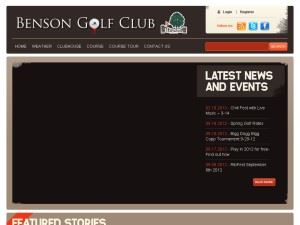 Benson Golf Club