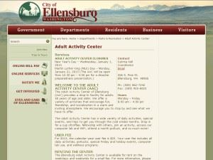 Ellensburg Adult Activity Center