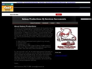 Galaxy Productions Dj Services