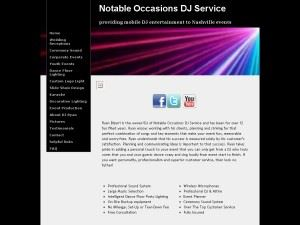 Notable Occasions DJ Service