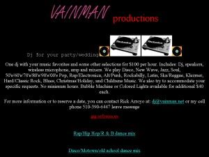 Vainman Productions