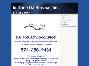 In-Tune D.J. Service, Inc.
