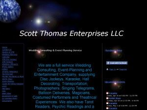 Scott Thomas Entertainment LLC
