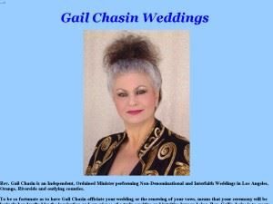 Gail Chasin Weddings