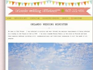 Orlando Wedding Officiant