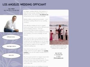Robinson, Chris - Los Angeles Wedding Officiant