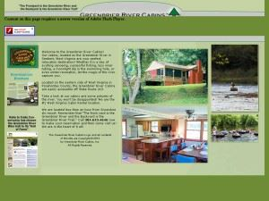 The Greenbrier River Cabins