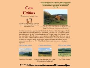 Cow Cabins