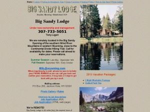 Big Sandy Lodge