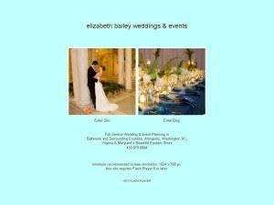 Elizabeth Bailey Weddings
