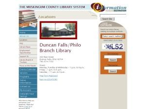 Duncan Falls Philo Branch Library
