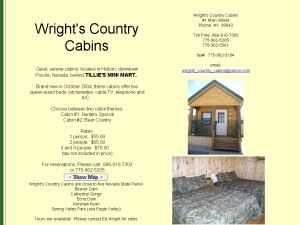Wright's Country Cabins