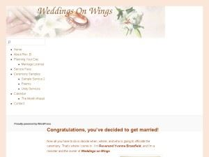 Weddings On Wings