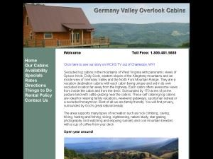 Germany Valley Overlook Cabins