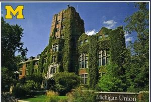 Michigan Union At University Of Michigan