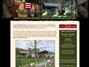 West Wind Farm Vineyard & Winery