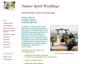 Nature Spirit Weddings