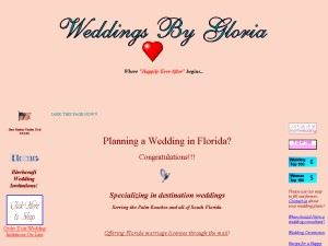Weddings by Gloria